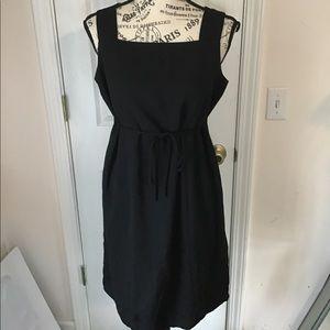 Motherhood Midi Black Dress Size 8